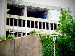 Westmoreland House (firstnameunknown) Tags: urban building art bristol graffiti derelict camerabag stokescroft westmorelandhouse camerabag2