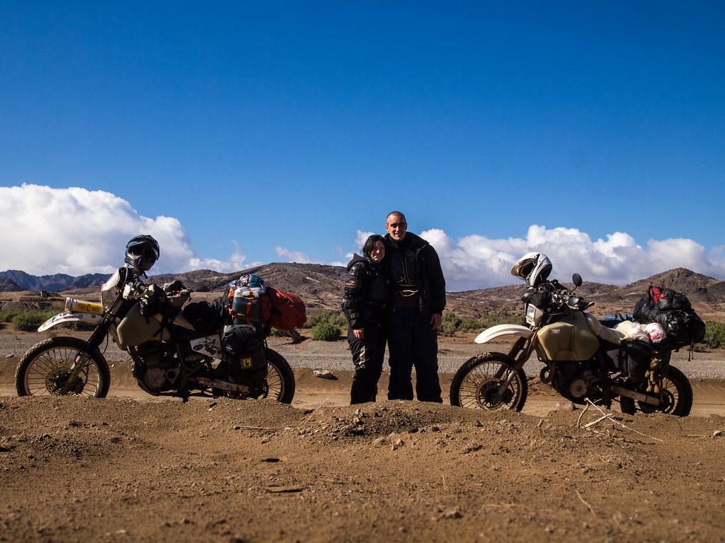 Danielle and Mike, Orange River, Nambia