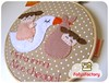 Cegonha (Carol Grilo • FofysFactory®) Tags: baby hoop handmade craft felt carolgrilo bebê feltro decor decoração cegonha bordado quadrinho fofysfactory bastidor