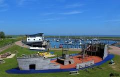 Overzicht jachthaven Texel (Romar Keijser) Tags: haven holland boot nederland boten texel noord schip schepen bootjes scheepvaart oudeschild