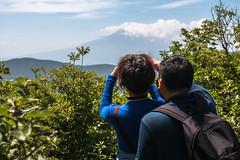 Making pictures of people making pictures (kenawy.nl) Tags: people mountain japan fuji mount eggs hakone 2014 owakudani kamiyama