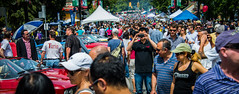 people sunglasses vancouver tents nikon photographer bokeh britishcolumbia crowd vignetting groupofpeople commercialdrive vancouverbc d600 vancouvercity italiandays cans2s tedsphotos nikonfx