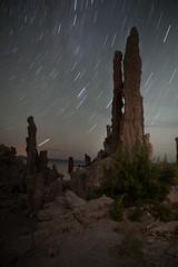 Star Trails over Tufas (KrissyM_77) Tags: longexposure night stars star monolake tufa startrails tufas