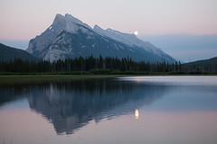 Supermoon Rising Landscape (craigmdennis) Tags: banff