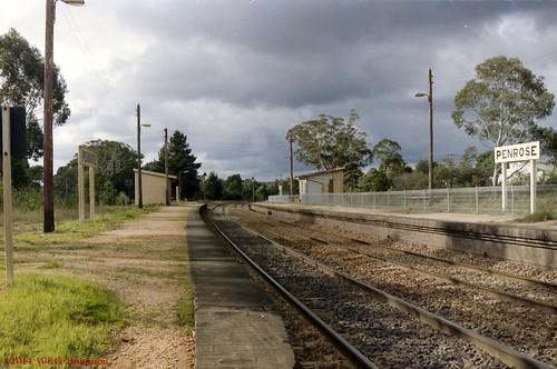 Penrose station platforms