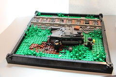 Achtung! Minen! (FirstInfantry) Tags: lego wwii panzer
