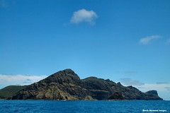 View to Malabar Hill - Lord Howe Island Circumnavigation (Black Diamond Images) Tags: mountains island boat paradise australia cliffs nsw boattrip circumnavigation lordhoweisland malabarhill worldheritagearea thelastparadise circleislandboattour