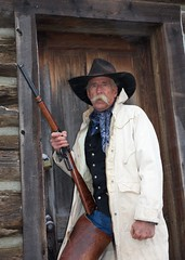 "Cowboy Closeup (blackhawk32) Tags: horse cowboy wranglers western wyoming cowgirl hideout lodge"" ""hideout"