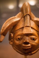 detail from Headdress for Gelede (Igi), Yoruba, Egbado region, Nigeria, early-mid-20th century  - Art Institute of Chicago.jpg (opacity) Tags: chicago art history archaeology museum illinois african il artinstituteofchicago artmuseum artinstitute arthistory headdress yoruba