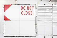 Do Not Close (Bram Meijer) Tags: red rood