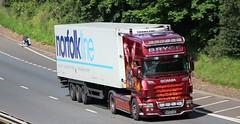 SCANIA R580 Topline - BRYCE Transport Almondbank Perthshire (scotrailm 63A) Tags: bryce trucks lorries