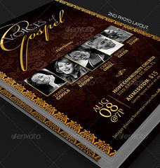 Gospel Concert Church Flyer Template (godserv) Tags: black church festival youth photoshop vintage religious gold concert flyer worship ministry christian event musical advert classical benefit elegant fest template gospel extravaganza praise classy talentsearch singoff charityorganization multipleartist