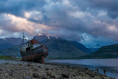 Abandoned (Kev Palmer) Tags: light sunset sky clouds landscape spring highlands nikon skies shadows seasons sundown may shade lochaber locheil corpach benbo leefilters nikkor2470f28 benbotripod leendgrad nikond800e caolbeach