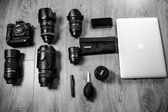 DX Gear (Chrizzyphotography) Tags: 35mm nikon sigma dx 105mm 1755mm macbookpro nikonfisheye sigma50150mm d7100 55300mm tokina1116mm macbookproretinadisplay dxgear