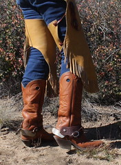 BOOTS N SPURS (AZ CHAPS) Tags: ranch spurs cowboy boots wranglers wilsons chinks
