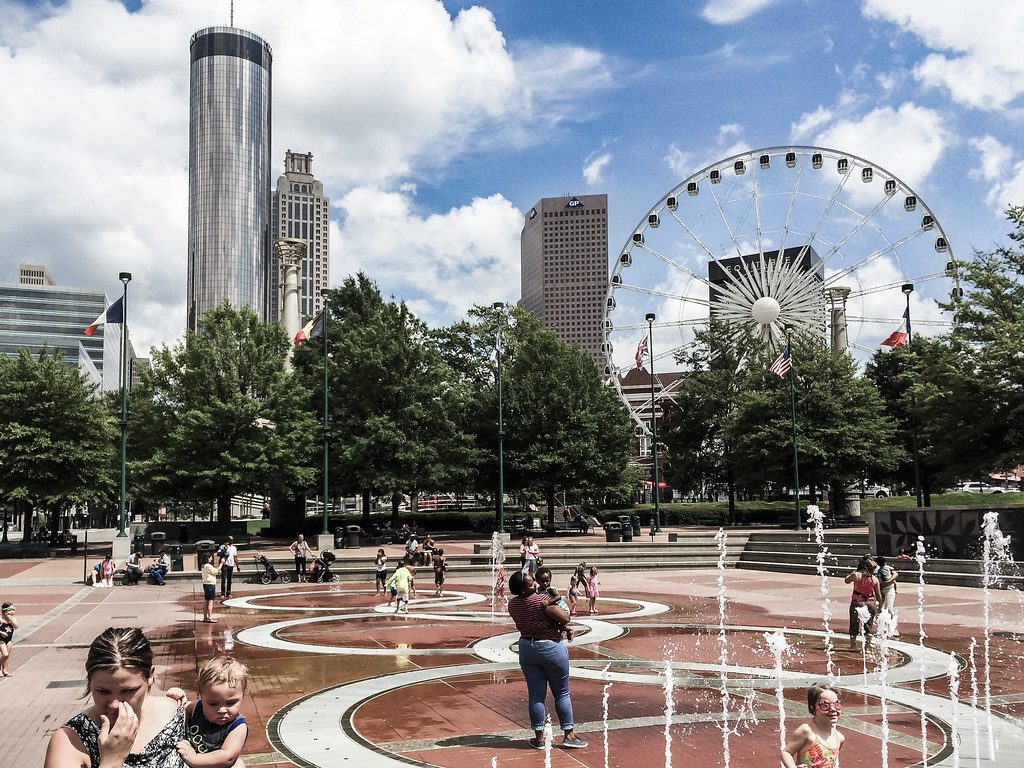 Centennial Olympic Park, Atlanta by Lee Edwin Coursey, on Flickr
