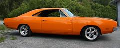1969 Dodge Charger (crusaderstgeorge) Tags: orange cars 1969 july dodge charger classiccars västerås dodgecharger americancars 2014 1969dodgecharger powermeet americanclassiccars powerbigmeet amerikanskabilar