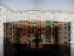 A Torino (battista ferrero) Tags: windows italy house home rain torino casa italia estate garage august case agosto palazzo turin pioggia palazzi cortile finestre rideaux tende cortili battistaferrero retulip