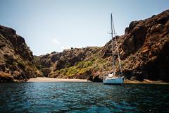 Shelter (Neel Nayak) Tags: ocean california santacruz beach water sailboat boat waves sailing yacht cove anchorage boating channelislands yachting coastalcruising santacruzisland twinharbors