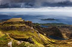 Shape shifting under the light (lawrencecornell25) Tags: skye landscape scotland quiraing elitephotography daarklands