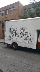 goose - one sided story (daswsup) Tags: street black philadelphia truck one graffiti paint flat tag goose story philly van punchline sided