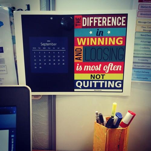 New month, New thought! :D #WaltDisney