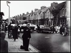 Gainsborough Carnival, Ropery Road (tatrakoda) Tags: old uk carnival england urban history film 35mm geotagged town lincolnshire gainsborough dn21 roperyroad