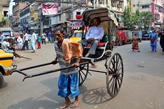 India - West Bengal - Kolkata - Pulled Rickshaw - 62 (asienman) Tags: india kolkata westbengal cyclerickshaws asienmanphotography pulledrickshaws