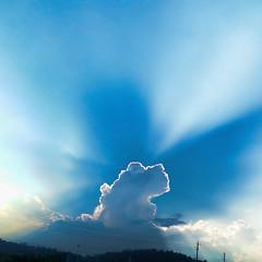 20140909-20140908_174319-Edit.jpg (revjoecool) Tags: sky clouds sunburst rays