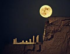 Masada king Herod palace   9.9.2014 (A   M) Tags: israel king palace  masada deadsea israeli arad 424   herod  soundandlightshow    masadafullmoon992014 masada424