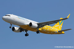 F-WWII // JA05VA - Airbus A320-216SL - Vanilla Air - CN 6282 (Bastien Spotting Aviation) Tags: cn air airbus vanilla bastien 6282 fwwii engerbeau a320216sl ja05va