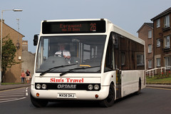 MX08 DHJ (Cumberland Patriot) Tags: travel lake bus buses boot district solo cumbria sims cumbrian optare m950 mx08dhj