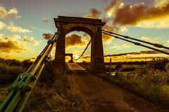 Horkstow Sunset (Lee532) Tags: uk bridge sunset sky sun set clouds nikon sundown north sigma lincolnshire 1224mm d610 horkstow