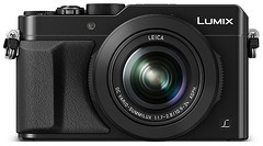 black lumix panasonic 4k lx100