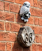 House Number & Owl, Welwyn, Herts
