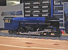Lego LNER Peppercorn A1 'Tornado' WIP (michaelgale) Tags: train lego wip steam locomotive a1 tornado peppercorn moc lner