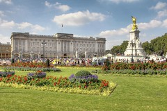 WIDOMSV: Buckingham Palace #1 (G-daddyArt) Tags: england london landscape buckinghampalace hdr