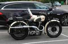 1933 Calthorpe 350 combination (davocano) Tags: brooklands tsj864