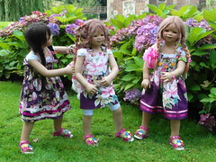 Setina Anne-Moni und Tivi ... (Kindergartenkinder) Tags: dolls annette wasserburg burg tivi hülshoff havixbeck setina himstedt annemoni kindergartenkinder