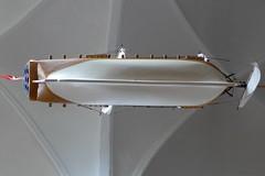 ship in sct. olai (brandsvig) Tags: summer church denmark ship cathedral harbour july danmark havn skib sommar kyrka domkyrka domkirke 2014 resund elsinore hamn helsingr lx7 skepp sctolai lumixlx7