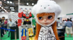 STGCC  Sissy at the Simply Toys Booth