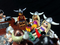 Œrr Mær Suðr-maðr 17 (icgetaway) Tags: party lego space horn viking horde