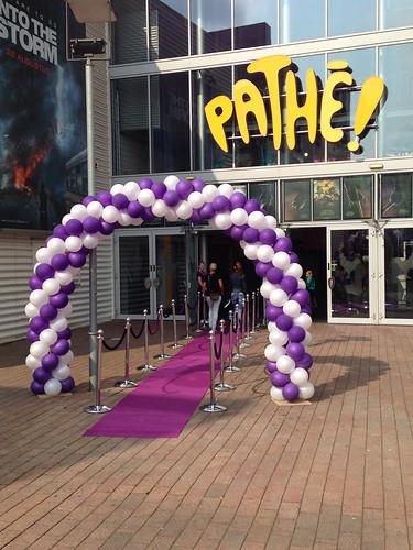 Ballonboog 7m Pathe De Kuip Rotterdam Disney Violetta
