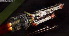 COMARCA CLASS BATTLESHIP (Pierre E Fieschi) Tags: art ship lego pierre space micro fi concept battleship sci 2014 microspace comarca fieschi microscale microspacetopia pierree shiptember