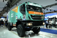 IAA Hannover 2014 - Iveco Rallye-Truck > Petronas  De Rooy < (BonsaiTruck) Tags: petronas hannover camion trucks astra iveco iaa lorries lkw rooy nutzfahrzeuge rallyetruck
