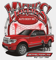 "Maceil's Auto Body - Bethel Park, PA • <a style=""font-size:0.8em;"" href=""http://www.flickr.com/photos/39998102@N07/15266112236/"" target=""_blank"">View on Flickr</a>"