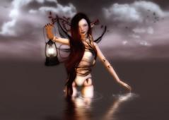 Glow (Spirit Eleonara) Tags: life light shadow photoshop photography doll avatar coco second