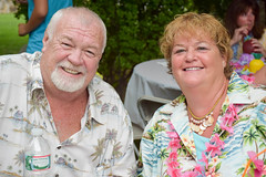 2014.08.30 Surprise 50th Luau (Katie Wilson Photography Adventures) Tags: birthday family party mom fun photography photo dancing pics good cousins lei event aunt drinks surprise times practice leis decor coconuts laughs