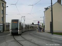 Avenue Andre Maginot (ernstkers) Tags: trolley tram lightrail streetcar tours tranvia elctrico tramvia citadis strasenbahn