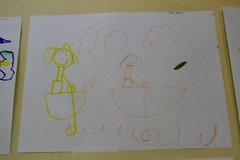 People Rowing Boats (Vegan Butterfly) Tags: people art water kids children boats artwork drawing row rowing draw homeschool homeschooling